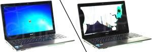 После и до замены экрана ноутбука