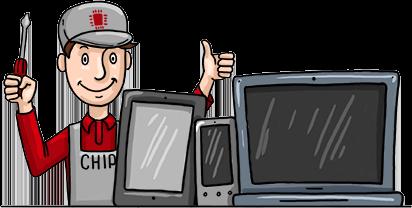 ремонт ноутбуков и айфонов