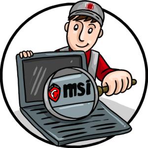 ремонт ноутбуков MSI в Иркутске
